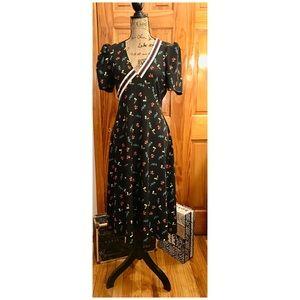 ASOS Midi Length Tea Dress